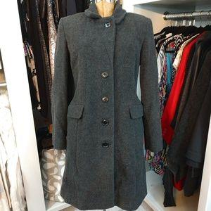 Covington Outerwear Wool/Nylon Long Coat/Jacket